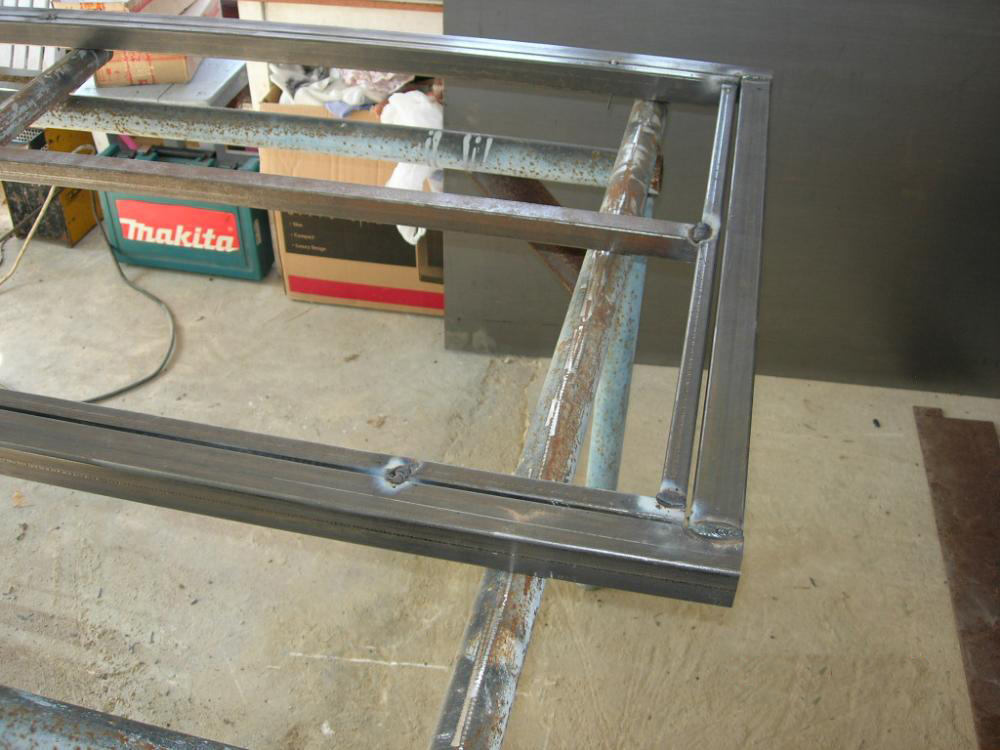 Каркас для металлической двери