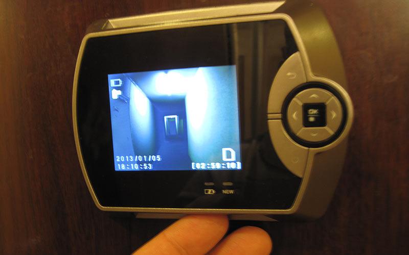 Монитор дверной камеры