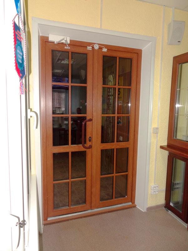 Ламинированная ПВХ дверь