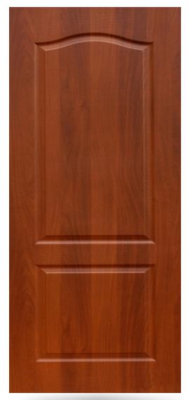 Глухая дверь с ламинированной поверхностью