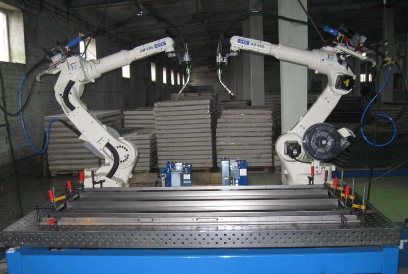 Автоматизированное оборудование для производства дверей