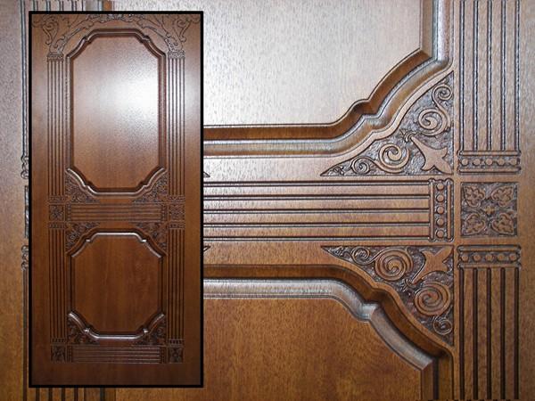 Карточка для декора двери