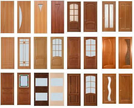 Виды дверей из ПВХ материала