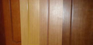Крашенные накладки для дверей