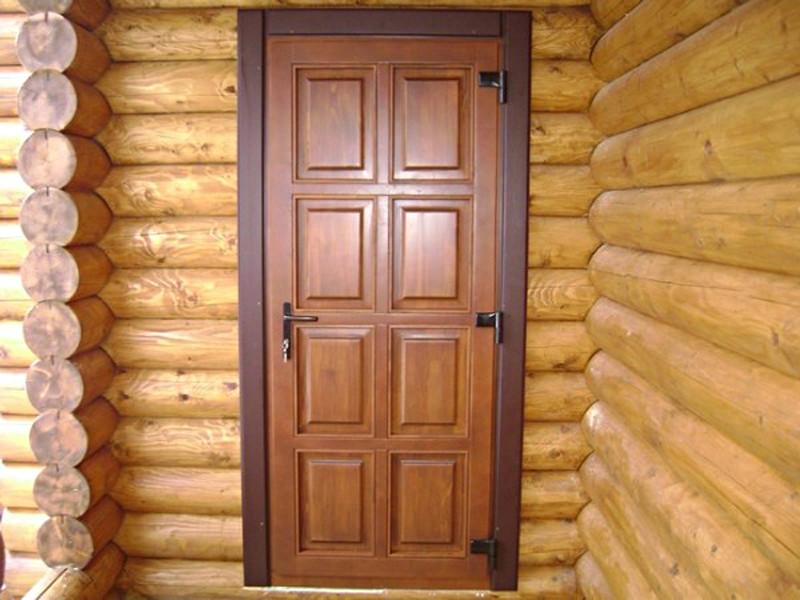 Наружная дверь в дом