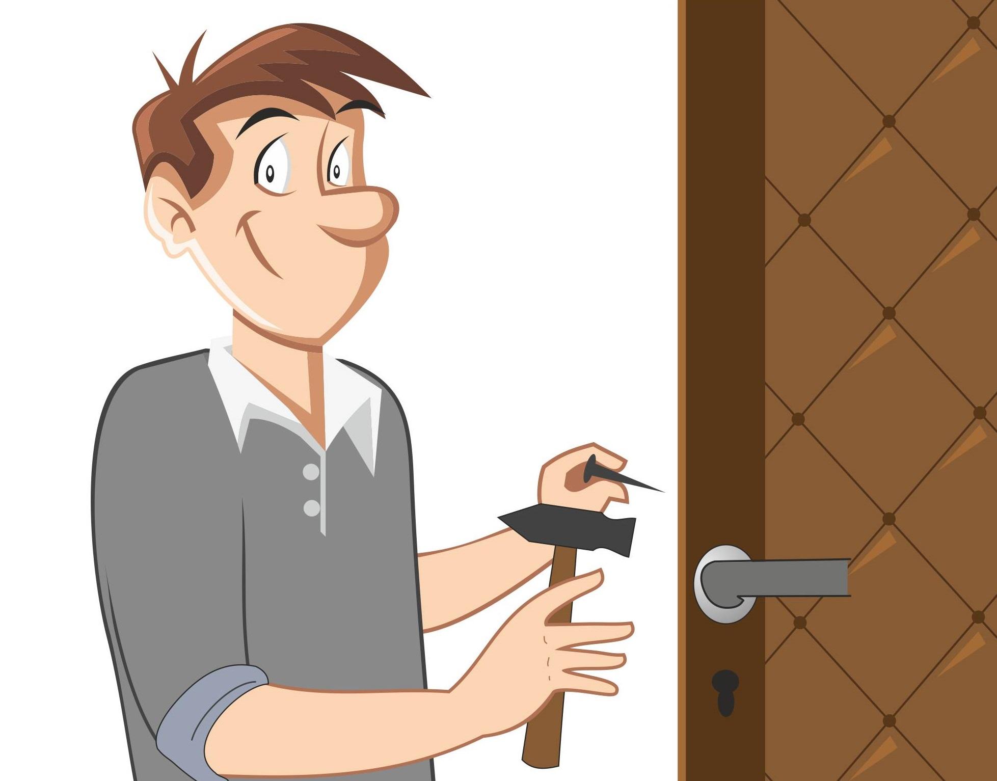 нашей картинки ремонта дверей этот раз