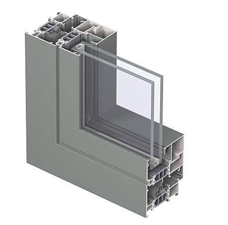 Образец алюминиевого профиля