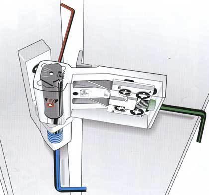 Способы регулировки петель для дверей из пластика