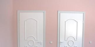 Двери из пластика для санузлов
