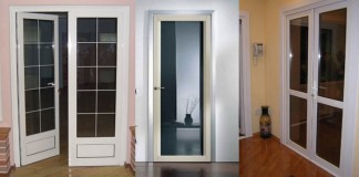 Двери из пластика в интерьере