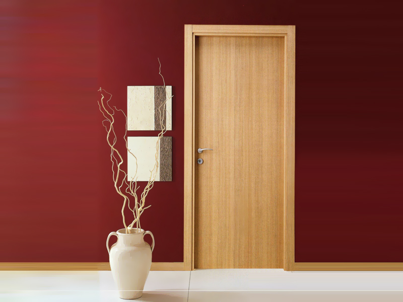 Дверь из шпона дуба