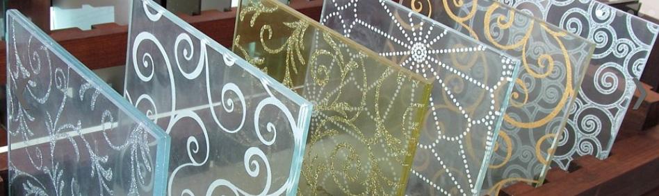 Стеклянные вставки для дверей