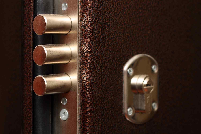 Толстое полотно входной двери