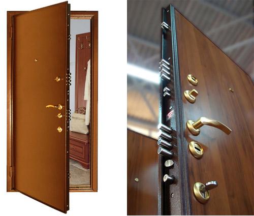 Полотно металлической двери