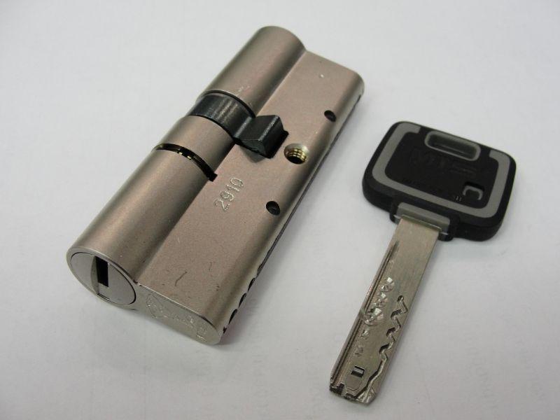Цилиндровый замок с ключом