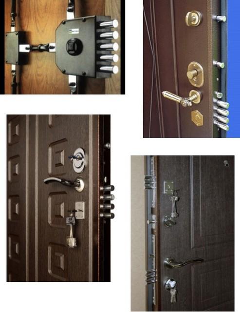 Запорные элементы входных дверей