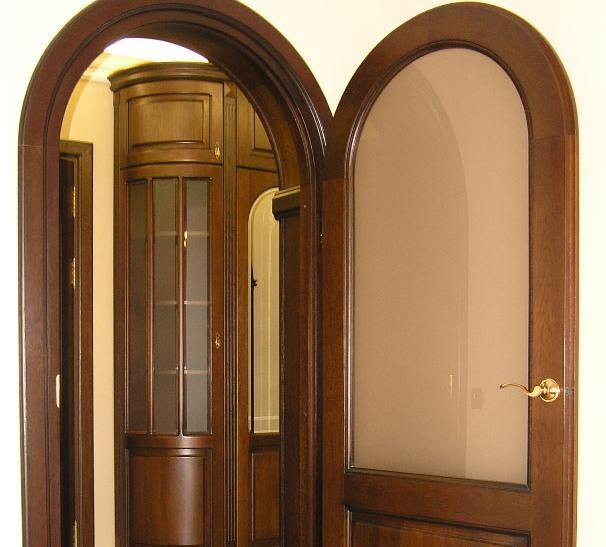 Дверь аркой