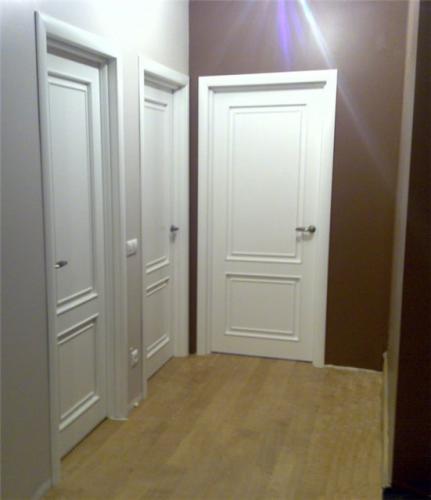 Двери-финки в коридоре