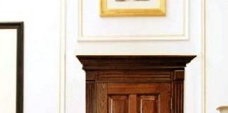 Дверь из ясеня в интерьере