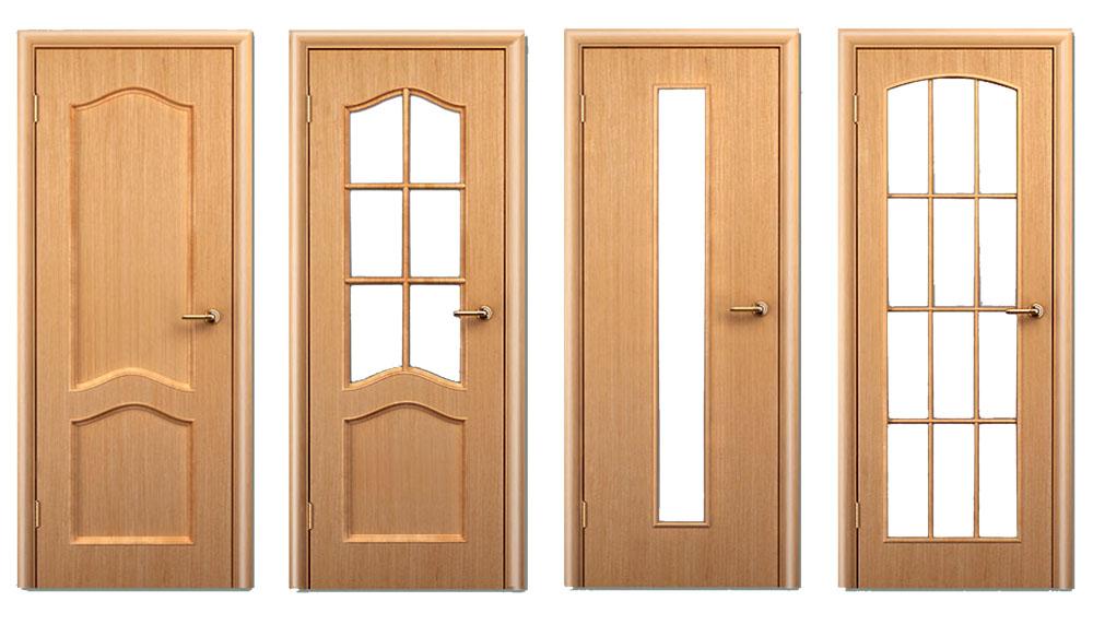 Двери с филенками