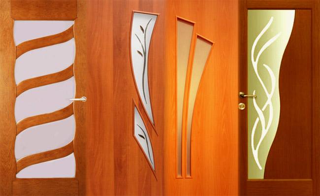 Двери с ламинированным покрытием