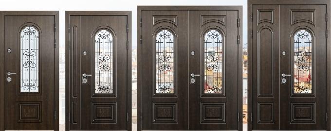 Внешний вид дверей Торекс Профессор