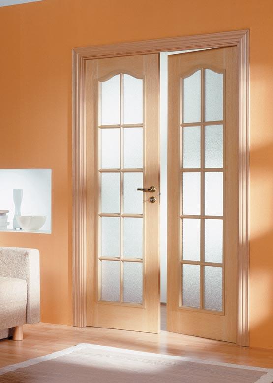Двупольная межкомнатная дверь