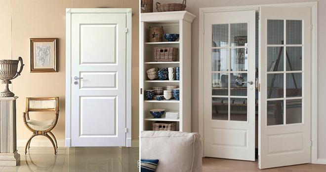 Финские двери в интерьере