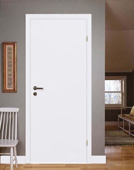 Финская дверь с глухим полотном