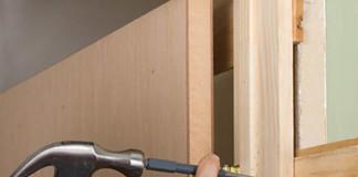 Монтаж дверной коробки деревянной двери