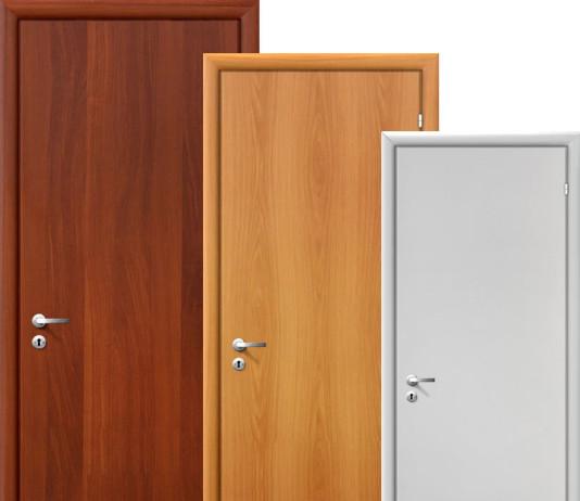 Простые межкомнатные двери