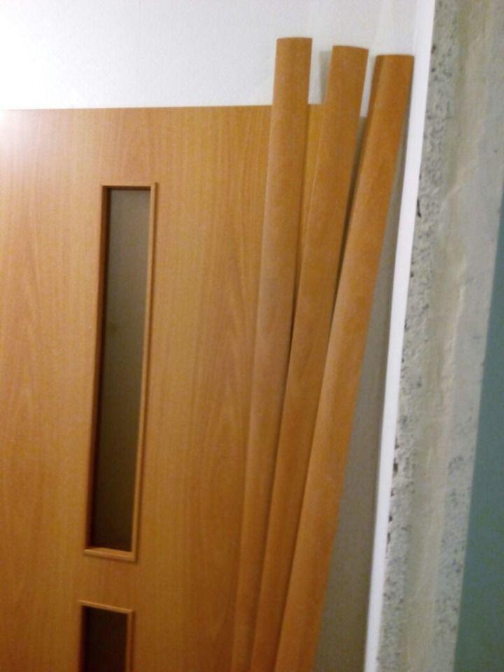 Межкомнатная дверь в разборе