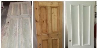 Восстановление деревянной двери