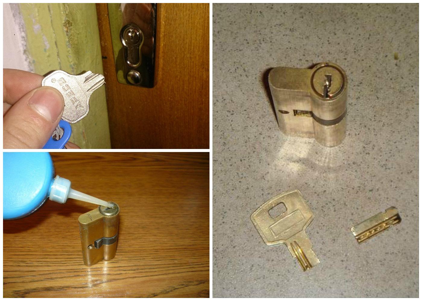 Сломался ключ в межкомнатной двери