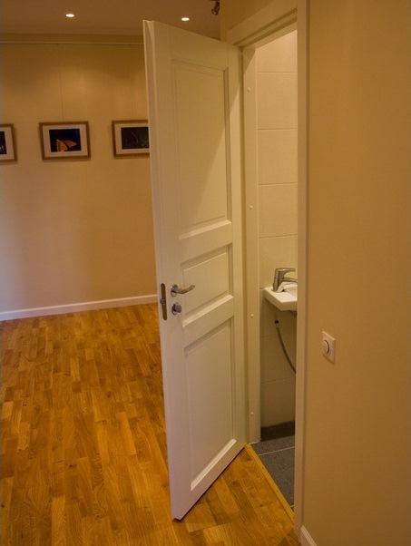 Дверь в санузле
