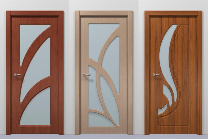Внешний вид дверей из МДФ