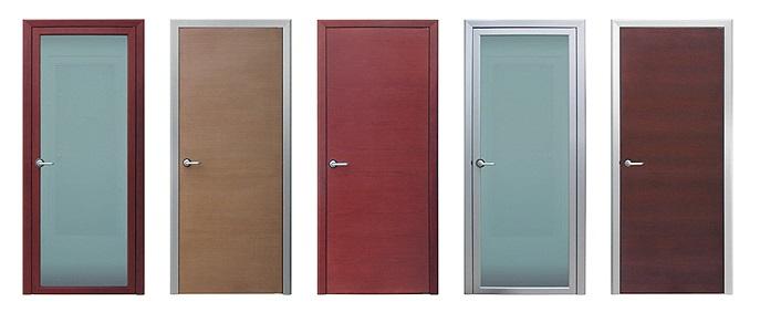 Алюминиевые двери Альфа