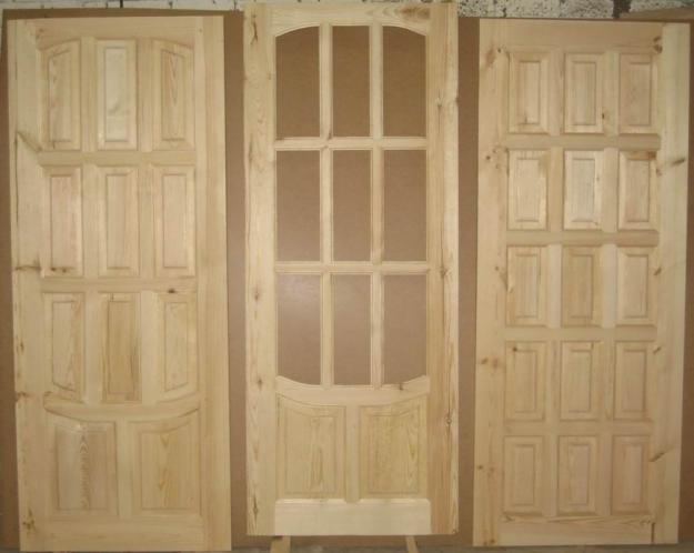 Полотна дверей из сосны