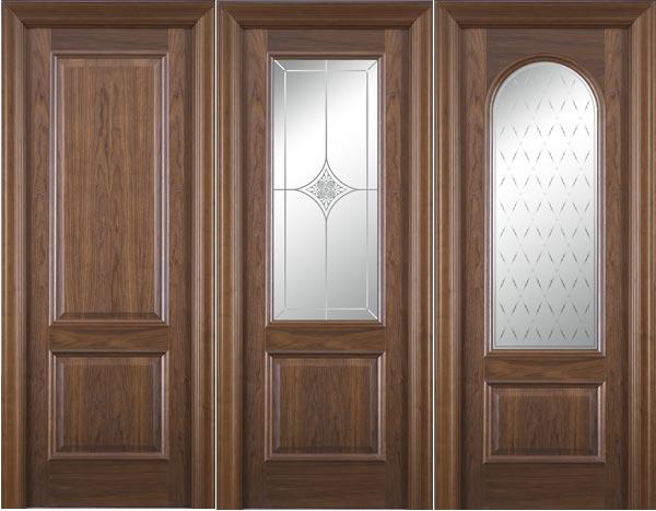 Межкомнатные двери из ореха