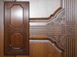 Накладка из МДФ для входной двери