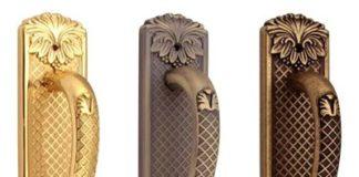 Металлические ручки скобы