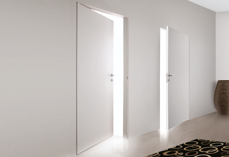 Внешний вид дверей со скрытой коробкой