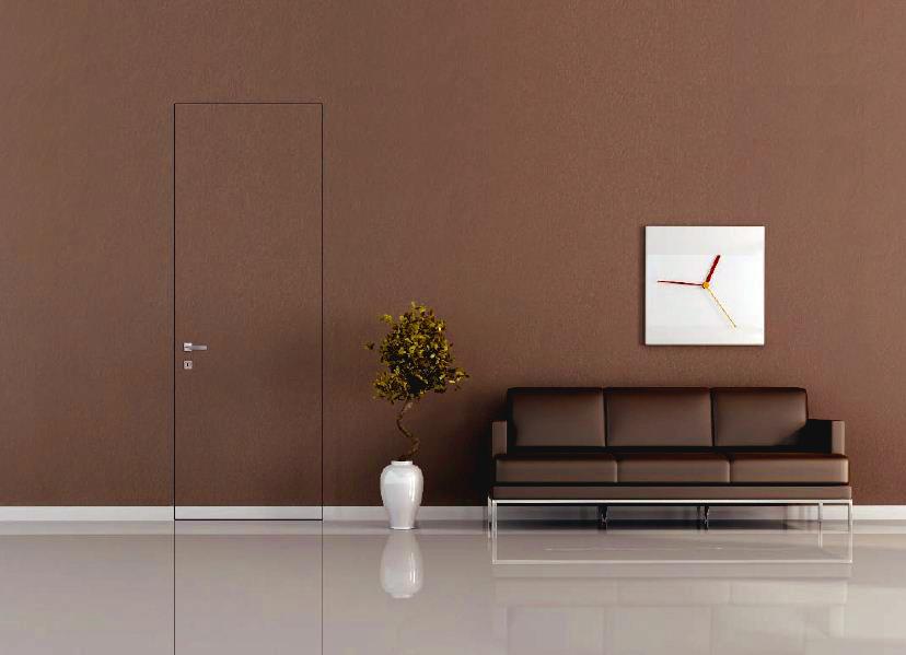 Дверь в цвет со стеной