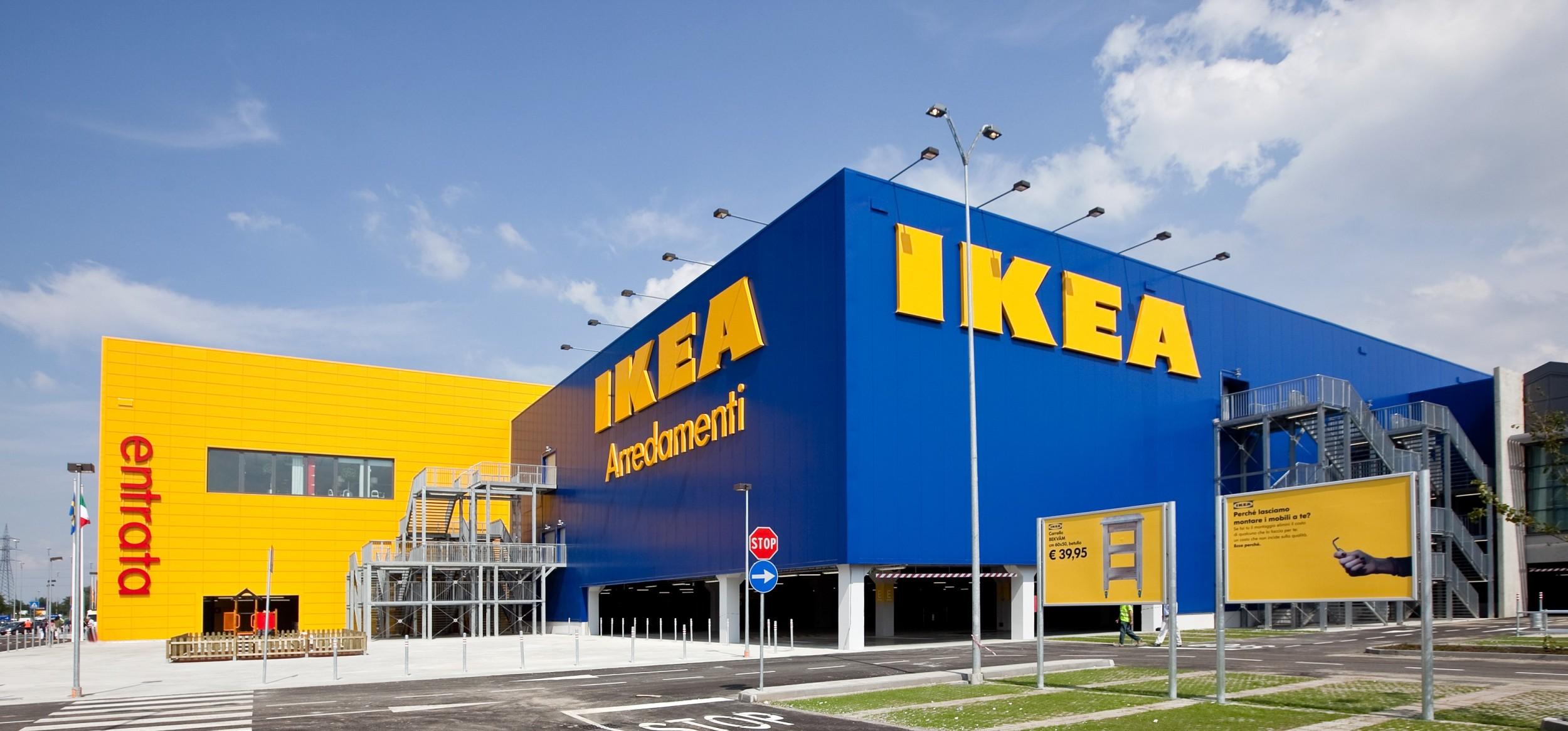 Магазин Икеа