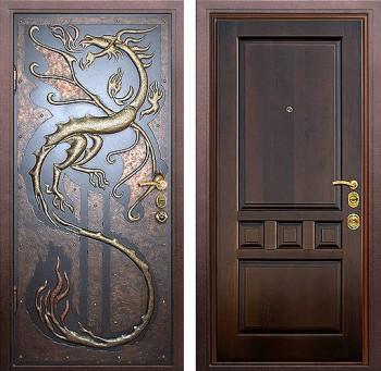 Элитная железная дверь