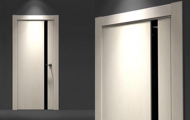 Дверь холодного оттенка