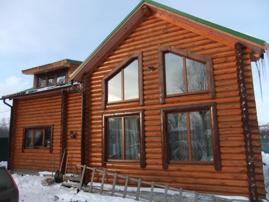 Дом из бревен