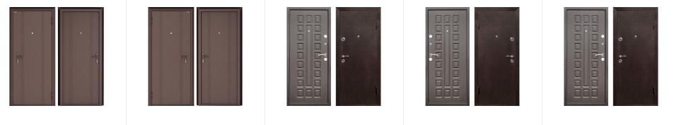 Модели дверей, реализуемых в Леруа Мерлен