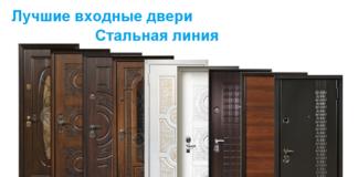 Двери производителя Стальная Линия