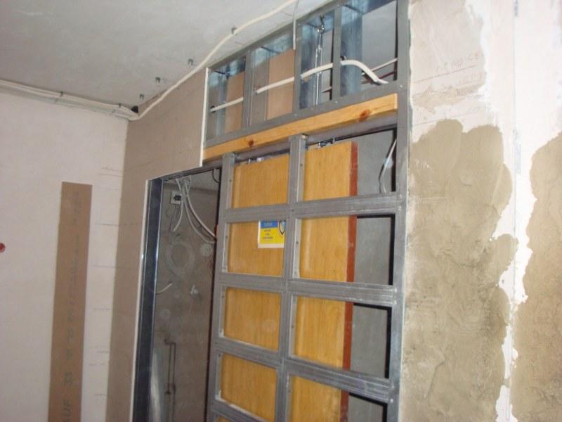 Кассета раздвижной двери
